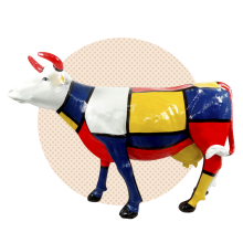 "Корова ""Мондриан"""
