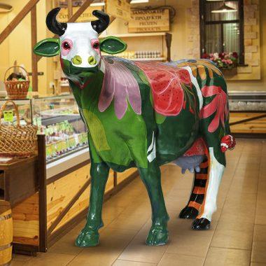 Макет коровы в натуральную величину